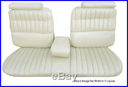 1973 1974 Cadillac El Dorado Bench with Armrest Front Seat Cover