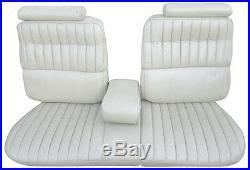 1973-1974 Cadillac Eldorado Standard Front Bench Seat Cover / Armrest 5 Colors