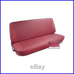 1973-77 Ford F Series Pickup Vinyl Bench Seat Cover Upholstery Kit, Red Color