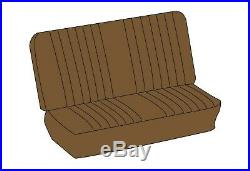 1974-1979 VW Bus 3/4 Middle Bench TAN Square Weave Vinyl Seat Cover 383412