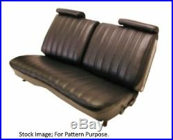 1974-76 Chevrolet Malibu Laguna & El Camino Front Bench Seat Cover witho Armrest