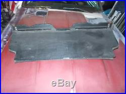 1974 Mercedes 107 r107 450 SL rear back wood bench floor panel carpet cover seat