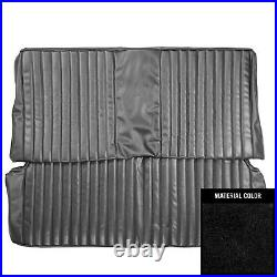 1974 Plymouth Duster/Dart Sport Hardtop Black Rear Fold Down Bench Seat Cover