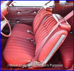 1975-76 Chevrolet Monte Carlo Split Bench Front Seat Cover