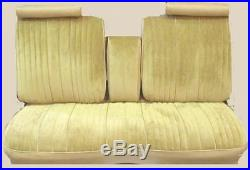 1976 Oldsmobile Cutlass Bench with Armrest Front Seat Cover
