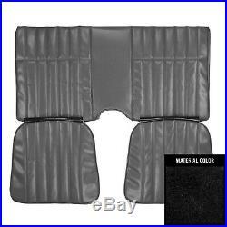1978 Chevrolet Camaro Hardtop Standard Black Rear Bench Seat Cover 78FS70C
