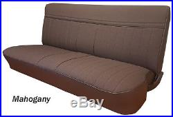 1981 1982 1983 1984 1985 1986 1987 Chevy GMC Truck Bench Seat Cover Orig. Style