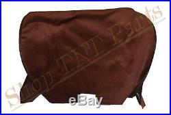 1981-1987 Buick Regal Seat Covers Front Bench Cover Maroon Cloth Arm Rest