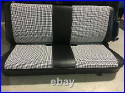 1981-1987 Chevy/GMC Square Body C10 Houndstooth Bench Seat Cover 73-87