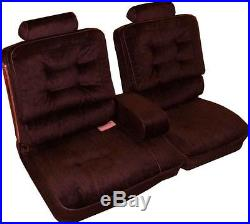 1981-87 Buick Regal Limited Bench with Armrest Front Seat Cover