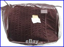 1986-1988 Monte Carlo SS LS 55/45 NOS GM Claret RH Bench Seat Bottom Cover