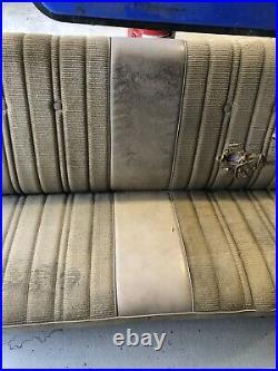 1991 1987 CHEVROLET GMC SILVERADO K10 K20 K30 Folding Bench Seat Core Nds Cover