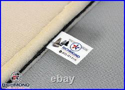 1992-1996 Ford Bronco -Rear Bench Seat Bottom PERFORATED Leather Seat Cover Gray