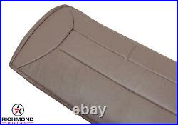 1992-1996 Ford Bronco -Rear Bench Seat Bottom PERFORATED Leather Seat Cover TAN