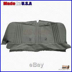 1995 1996 1997 1998 1999 2000 GMC Cheyenne WT Bench Bottom Vinyl Seat Cover Gray