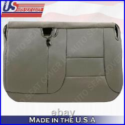 1995 1996 1997 1998 1999 Chevy GMC Front Driver Bench Bottom Seat Cover Gray 922