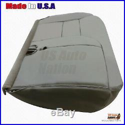 1995 1996 1997 1998 1999 Chevy Silverado Driver Bench Bottom Seat Cover In GRAY