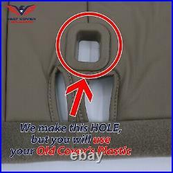 1995 1996 1997 1998 1999 Chevy split Bench Vinyl Seat Cover Tan 60/40