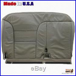 1995 1996 1997 1998 1999 GMC Sierra Driver Bench Bottom Seat Cover 60/40 Gray