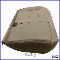1995 1996 1997 Chevy Tahoe Driver Bench Bottom Seat Cover Tan 60/40 split