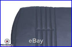 1995-1999 Chevy Silverado Work-Truck Base -Lean Back Bench Seat Vinyl Cover Blue
