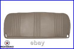 1995-1999 Chevy Silverado Work-Truck Base WithT -Bottom Bench Seat Vinyl Cover Tan