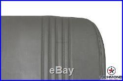 1995-1999 GMC Sierra C/K 1500 2500 3500 SL Bottom Bench Seat Vinyl Cover Gray