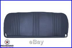 1995-1999 GMC Sierra C/K 1500 2500 3500 WT SL-Bottom Bench Seat Vinyl Cover Blue