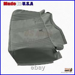 1995 1999 GMC Sierra C/K 3500 SL Base WithT Bench Bottom Gray Vinyl Seat Cover