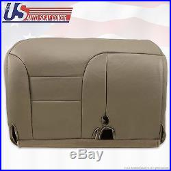 1995 1999 Silverado Tahoe Suburban Driver Bench Seat Cover Tan 60/40 split