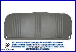 1995-2000 Chevy Cheyenne C/K Work-Truck Base -Bottom Bench Seat Vinyl Cover Gray