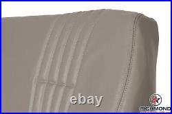 1995-2000 Chevy Cheyenne C/K Work-Truck LEAN BACK Bench Seat Vinyl Cover Tan