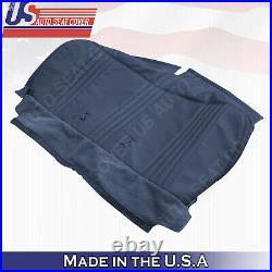 1995-2000 Chevy Silverado Cheyenne Base WithT -Bottom Bench Seat Vinyl Cover Blue