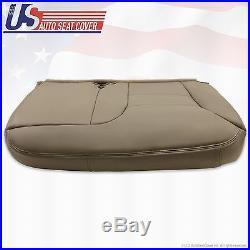 1995 99 Chevy Silverado Driver Bench Seat Cover Tan 60/40 split