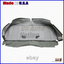1995 to 1999 GMC Sierra C/K 2500 SL WithT Base Bench Bottom Vinyl Seat Cover Gray