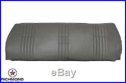 1996 1997 Chevy Silverado Work-Truck Base -LEAN BACK Bench Seat Vinyl Cover Gray