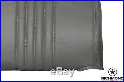 1996 1997 Chevy Silverado Work-Truck Base -LEAN BACK Bench Seat Vinyl Cover Gray