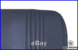 1996 1997 Chevy Silverado Work-Truck Base WithT-Bottom Bench Seat Vinyl Cover Blue