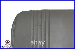 1996 1997 Chevy Silverado Work-Truck Base WithT-Bottom Bench Seat Vinyl Cover Gray