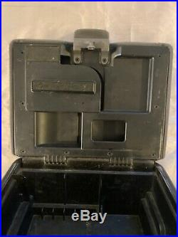 1997-2003 Ford F150 Armrest Center Console Jump Seat Cup Holder Gray