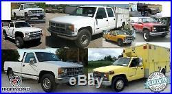 1998 1999 Chevy Cheyenne C/K Work-Truck Base -Bottom Bench Seat Vinyl Cover Blue