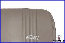 1998 1999 Chevy Cheyenne C/K Work-Truck Base Bottom Bench Seat Vinyl Cover Tan