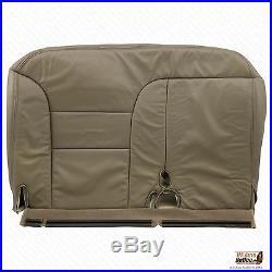 1998 1999 GMC Yuckon Sierra Driver Bench Bottom Seat Cover Tan 60/40 split