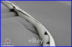 1998 Chevy Silverado C/K Work-Truck Base WithT -Bottom Bench Seat Vinyl Cover Gray