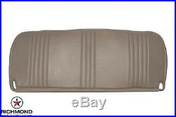 1998 Chevy Silverado C/K Work-Truck Base WithT Bottom Bench Seat Vinyl Cover Tan