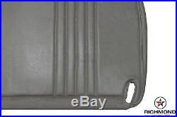 1998 GMC Sierra C/K Work-Truck Base WithT SL Bottom Bench Seat Vinyl Cover Gray