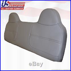 1999 2000 2001 2002 Ford F350XL Work Truck Bench Lean Back Vinyl Cover Gray
