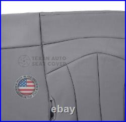 1999, 2000, 2001 Ford F150 Lariat 2WD Passenger Bench Leather Seat Cover Gray