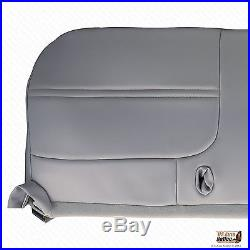 1999 2000 2001 Ford F250 F350 XL Work Truck -Bottom Bench Seat Vinyl Cover Gray