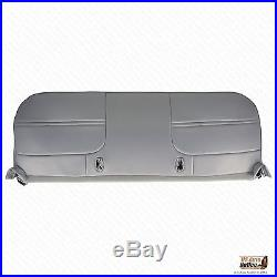 1999 2000 2001 Ford F450 F550 XL Work Truck -Bottom Bench Seat Vinyl Cover Gray